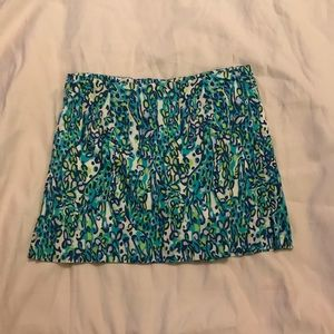 Lilly Pulitzer mini skirt